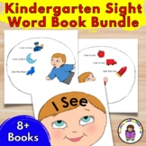Kindergarten Sight Word Book Bundle