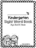 Kindergarten Sight Word Book (Fry's first 100 words)