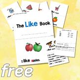 FREE Kindergarten Sight Word Book - See