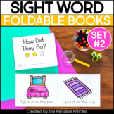 Sight Word Mini Books | No Prep Sight Word Readers - Set 2
