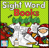 Christmas Sight Words Books for Kindergarten | Christmas Activities