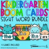 Kindergarten Sight Word Boom Cards™