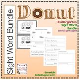 Kindergarten Sight Word Bundle - Donuts