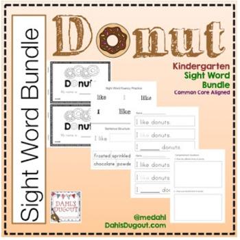Sight Word Bundle - Donuts
