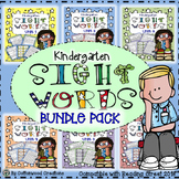Kindergarten Sight Word Bundle