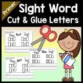 Kindergarten Sight Word Activities with Magazine Letters {52 Words!}