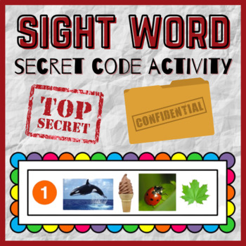Sight Word Secret Code!