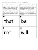 Kindergarten Sight Word Flash Cards 3rd quarter (Paperclip flash cards)