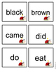 Kindergarten Sight Word Flashcards - Ladybug Theme