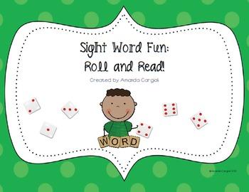 Kindergarten Sight Word Fun! Literacy Station Bundle