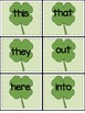 Kindergarten Sight Word Games - March
