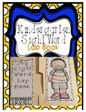 Kindergarten Sight Word Lap Book
