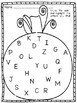 Kindergarten Sight Word  & Letter Identification Write the Room ~ October
