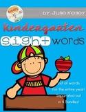 Kindergarten Sight Word Lists [Kinder Confessions]