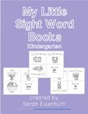 Kindergarten Sight Word Little Books