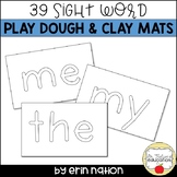 Kindergarten Sight Word Play Dough Mat template