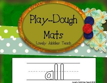 """Kindergarten* Sight Word """"Play-dough"""" Mats"""