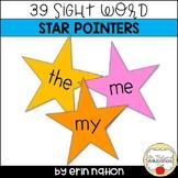 Kindergarten Sight Word Pointers template
