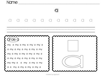 Kindergarten Sight Word Practice (Reach for Reading)