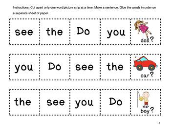Kindergarten Sight Words with BOOM CARDS