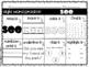 Kindergarten Sight Word Practice Worksheets - 80 words - BUNDLE