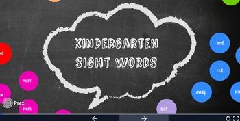 Kindergarten Sight Word Prezi