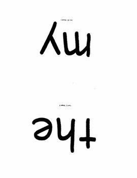 Kindergarten Sight Word Reader