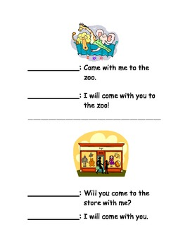 Readers Theaters: kindergarten sight words
