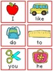 Kindergarten Sight Word Review {Wonders Supplemental Unit} FREE