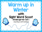 Kindergarten Sight Word Scoot {Set 1}
