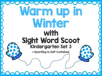 Kindergarten Sight Word Scoot {Set 3}