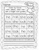 Kindergarten Sight Word Search