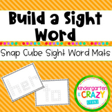 Sight Words With Snap Cubes