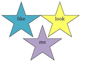 Kindergarten Sight Word Stars