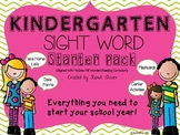 Kindergarten Sight Word Starter Pack {Wonders Aligned}