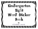 Kindergarten First 100 Fry Words Sticker Book