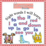 Staple-me Books: Kindergarten Sight Word Stories and activ