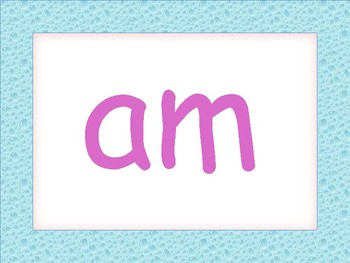 Kindergarten Sight Word Task Cards