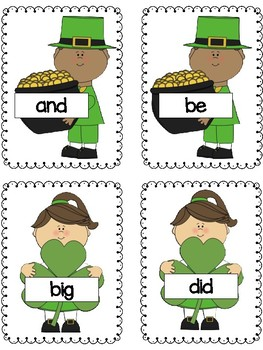 Kindergarten Sight Word & Vowel Sounds Write the Room ~ March