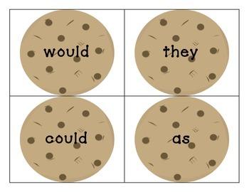 Kindergarten Sight Word/Word Work games