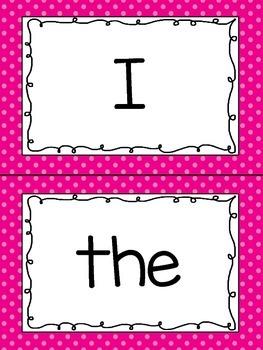 Kindergarten Sight Words!