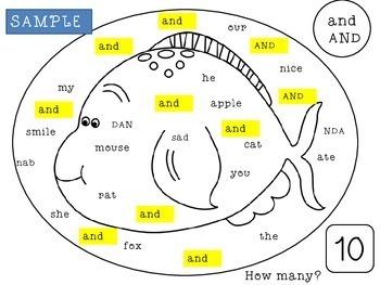 Kindergarten Sight Words   Sight Words Activities   Sight Words Practice
