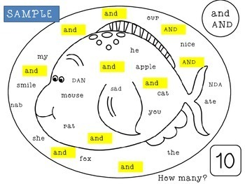 Kindergarten Sight Words Worksheets | Kindergarten Sight Words Practice