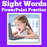 Sight Word Practice for Kindergarten | PowerPoint