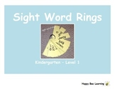 Kindergarten Sight Words - Level 1