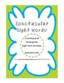 Kindergarten Sight Words Activity Pack