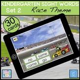 BOOM CARDS Reading Kindergarten Sight Words Set 2 | Literacy Centers Kinder