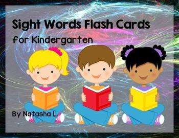Kindergarten Sight Words Bundle