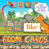 Kindergarten Sight Words Digital Task Cards | Boom Cards |