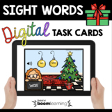 Kindergarten Sight Words Distance Learning December Boom C